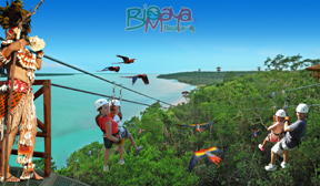 BioMaya Zipline tour