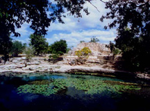 dzibilchaltun cenote and temple