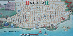 Map of Bacalar