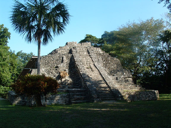 Temple at Chacchoben
