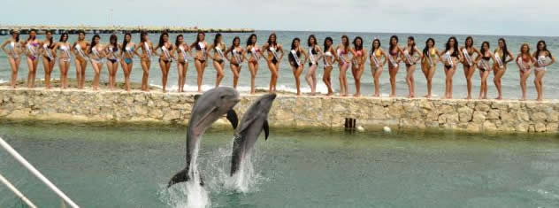 Mahahual beauty contest - Miss Mexico Earth