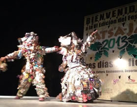 Recycled Art Dance
