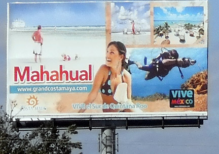 Mahahual Billboard