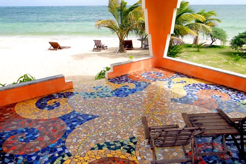 Ocean Front Cabanas