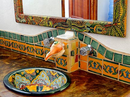 Unusual Large Bathroom Wall Tiles Uk Tall Steam Bath Unit Kolkata Square Bathroom Mirror Circle Spa Like Bathroom Ideas On A Budget Old Lamps For Bathroom Vanities FreshTop 10 Bathroom Faucet Brands Mexican Bathroom Sinks. Mexican Talavera Toilet Set. Mexican ..