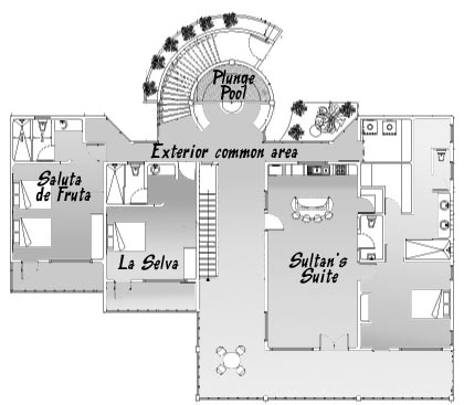 Mexico beach house costa maya mahahual taj majahual for Mexican house plans